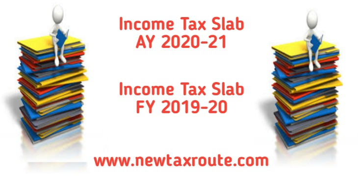 Income Tax slab for AY 2020-21