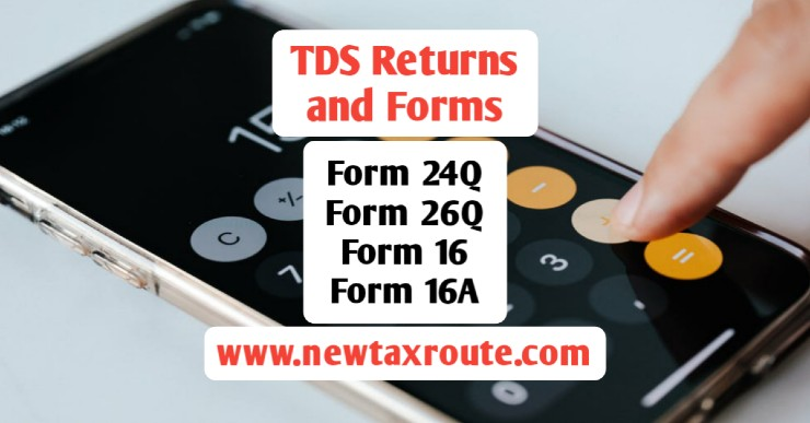 TDS Returns and Forms