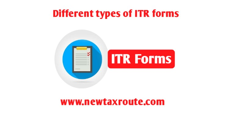 Different types of ITR Forms