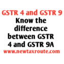 Difference between GSTR 4 and GSTR 9A