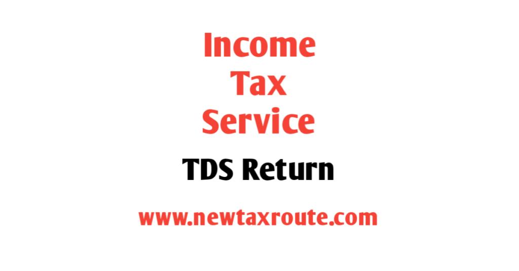 TDS Return Filing Service