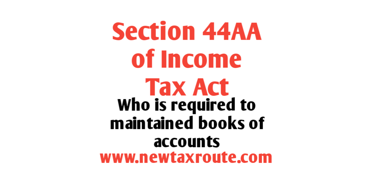 44aa of income tax act