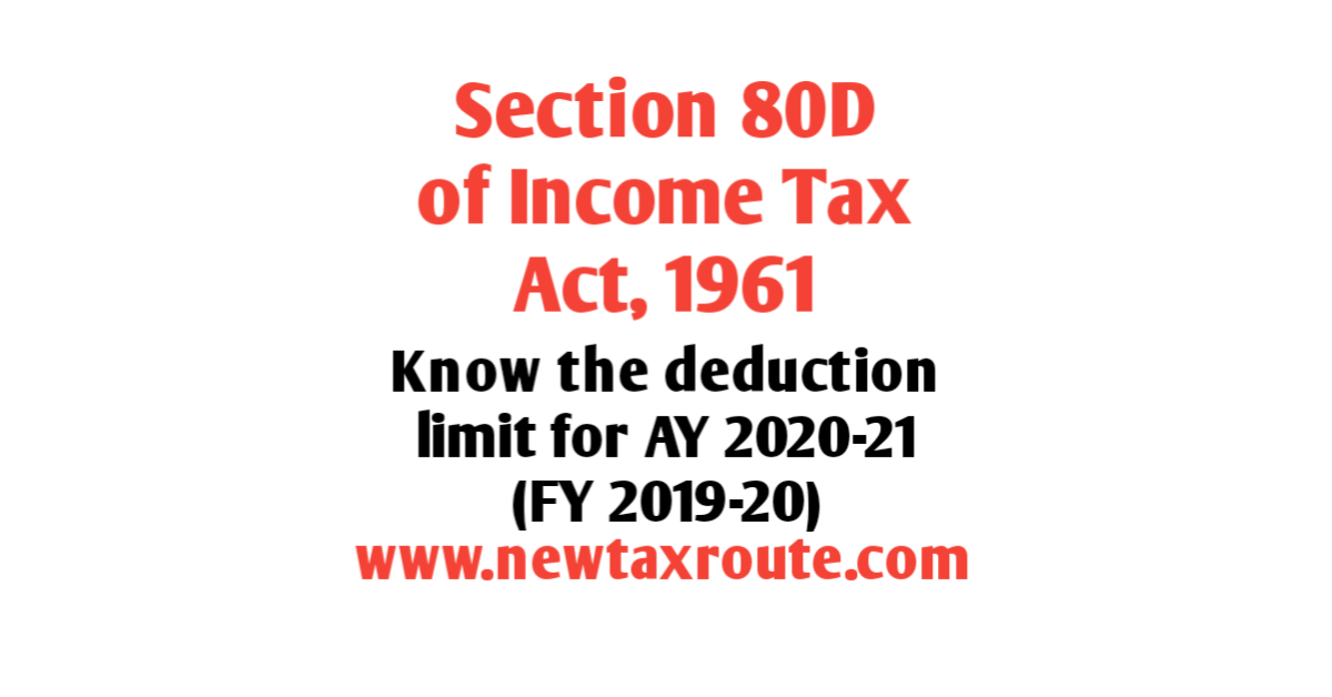 80D Deduction for AY 2020-21