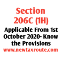 Section 206C (1)- TCS on sale of goods