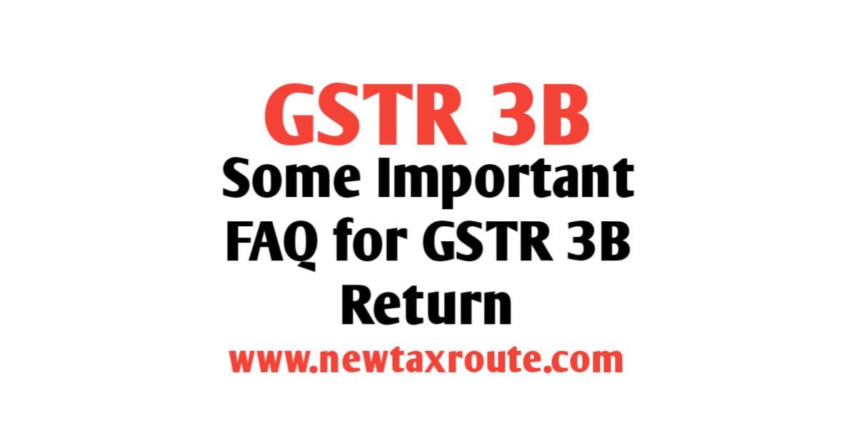 gstr 3B Return
