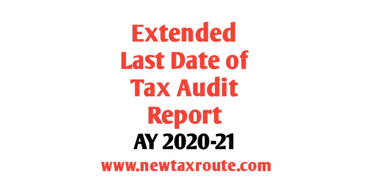 Last Date of Tax Audit For FY 2019-20