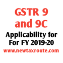 GSTR 9 Applicability for FY 2019-20