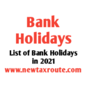 List of Bank Holidays in 2021 in India