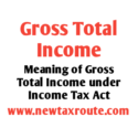 Meaning of Gross Total Income in Income Tax India