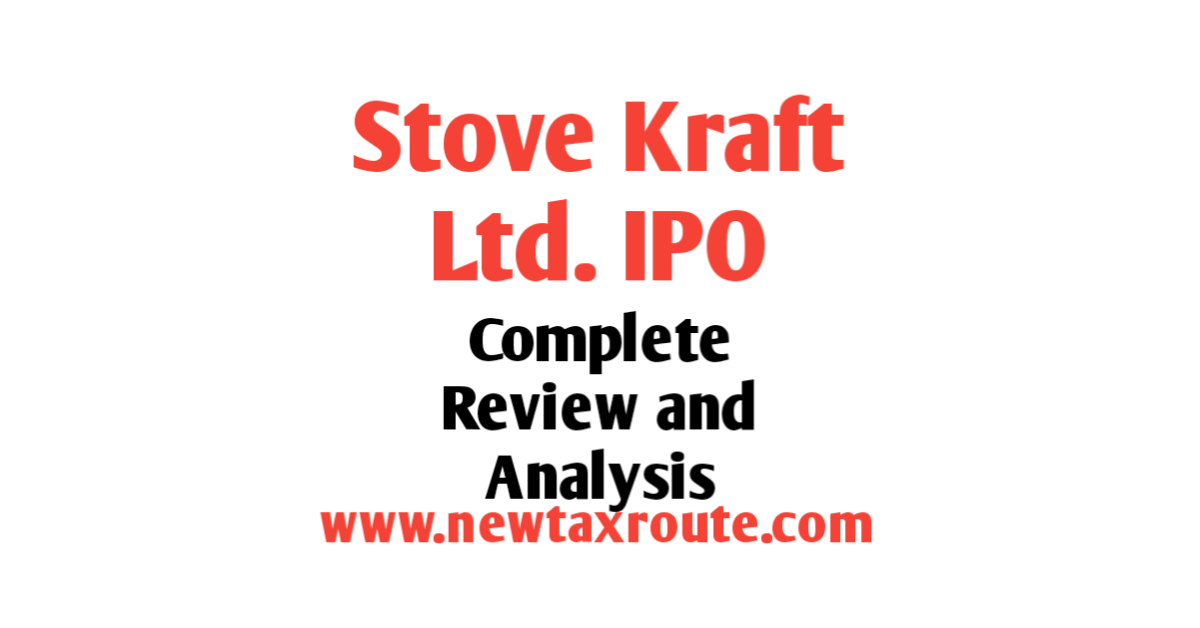 Stove Kraft Ltd. IPO Review and Analysis