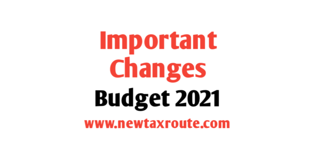 income tax changes in budget 2021