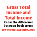 Difference Between Gross Total Income and Total Income
