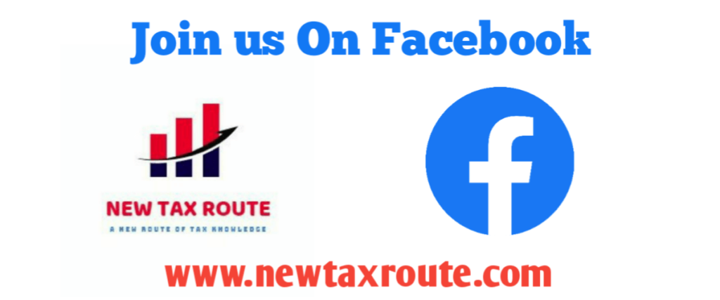 New Tax Route Facebook