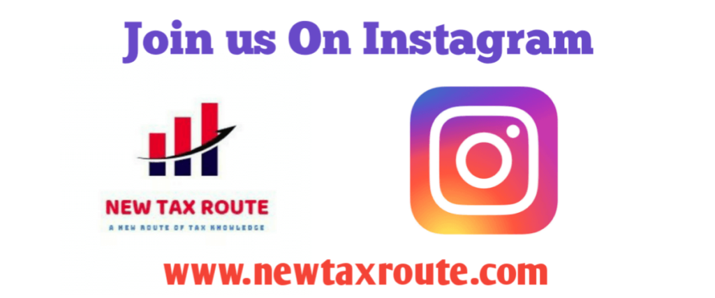 New Tax Route Instagram