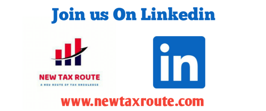 New Tax Route LinkedIn