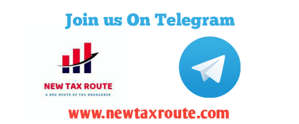 New Tax Route Telegram