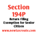 Section 194P of the Income Tax Act