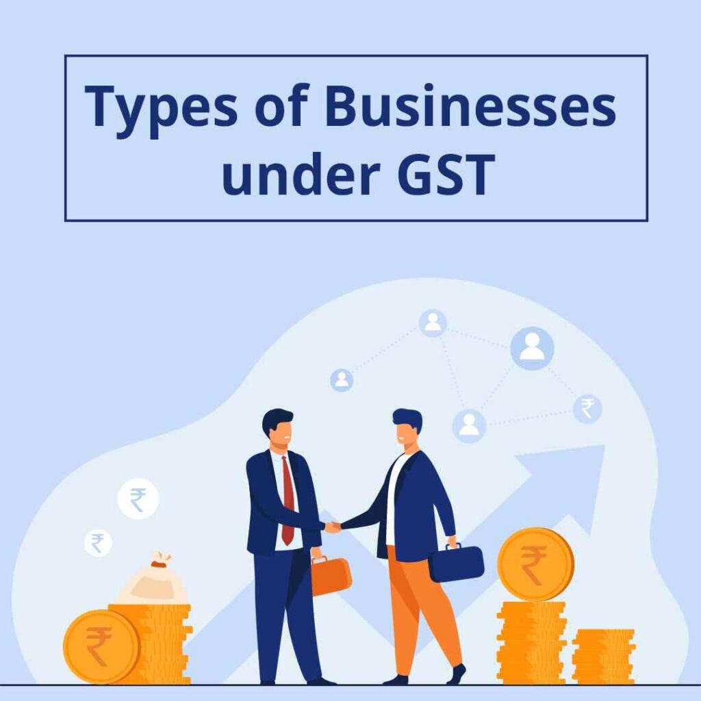 Types of business under GST