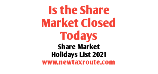 Is the Share Market Closed Today