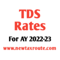 TDS Rates for AY 2022-23