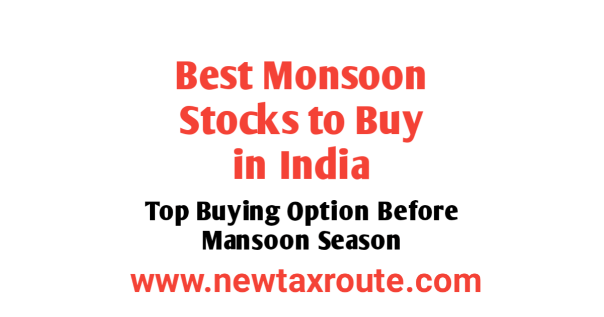 Best Monsoon Stocks to Buy in India