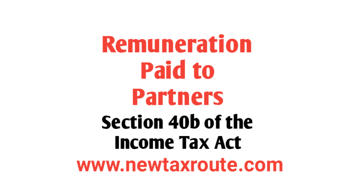 Remuneration to Partners