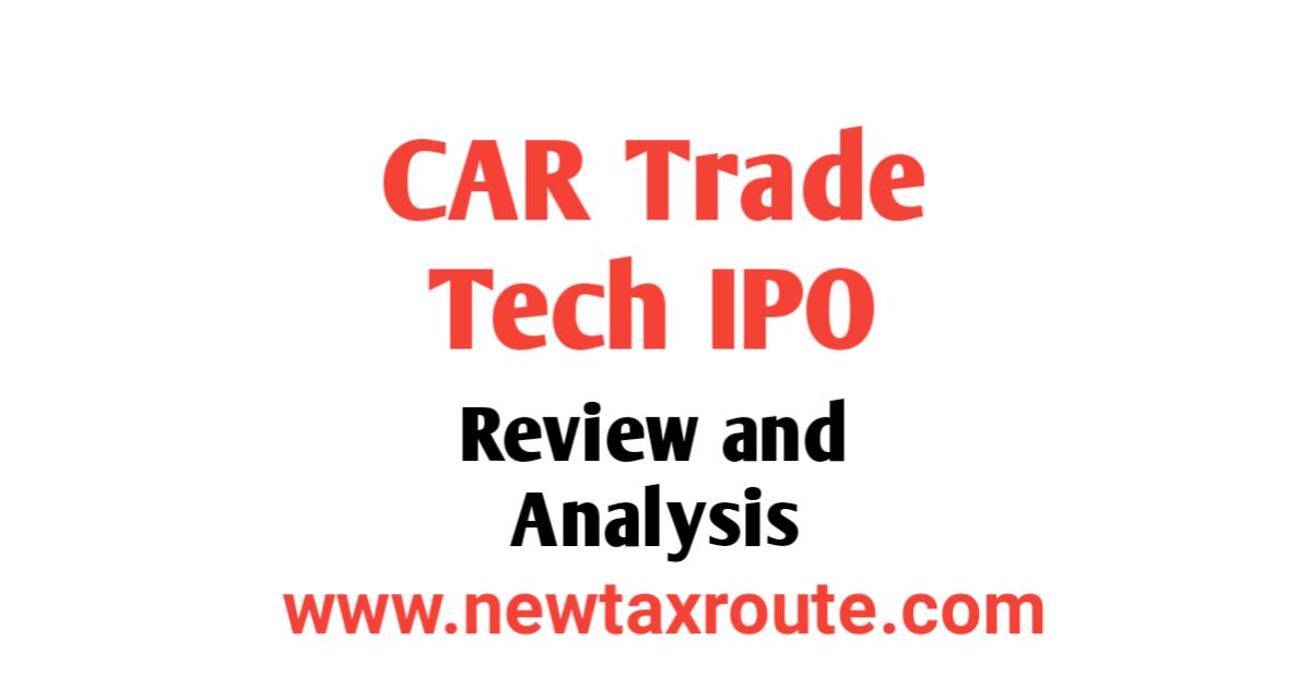 Car Trade Tech IPO