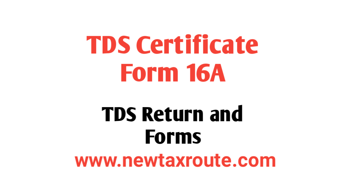 Form 16A