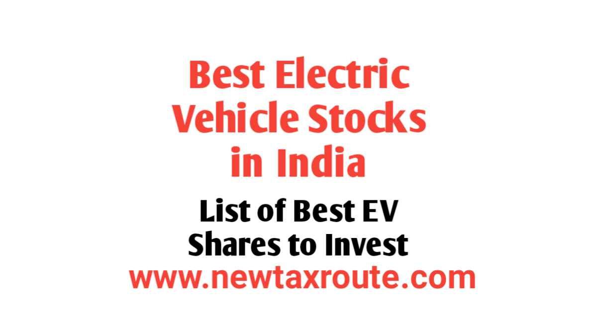 List of Best Electric Vehicle Stocks in India
