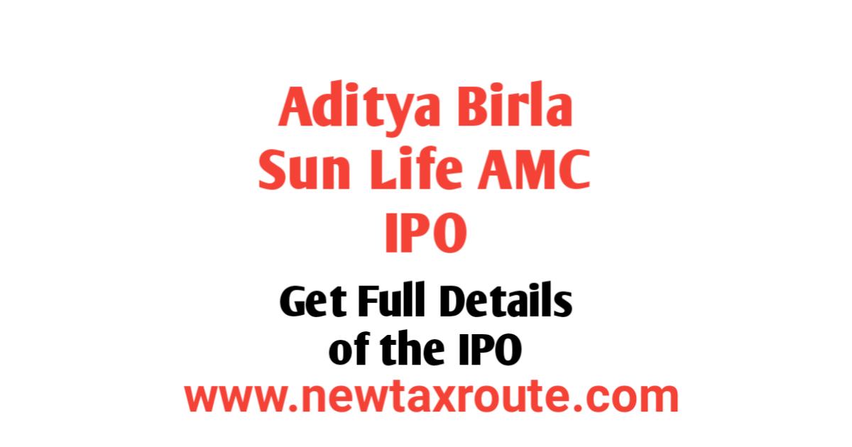 Aditya Birla AMC IPO